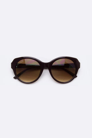 Iconic Cat Eye Chocolate Sunglasses