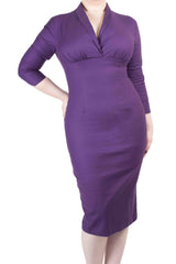Eleanor Dress Plum