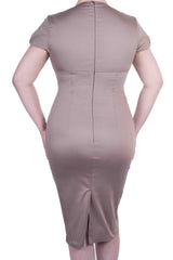 Vivian Dress Taupe