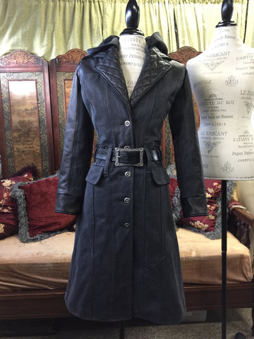 The Victory Coat with detachable hood