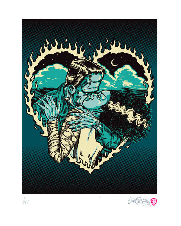 'monster marriage' print