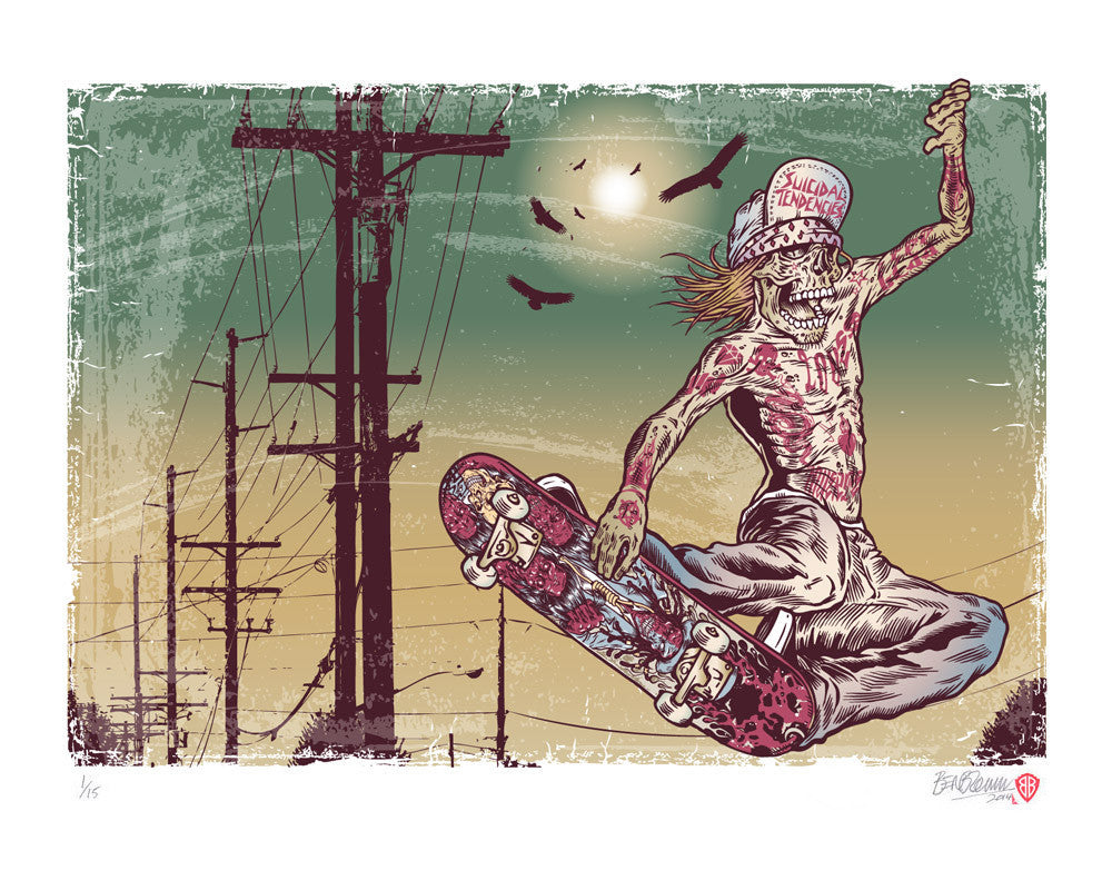 'Possessed to Skate' Print