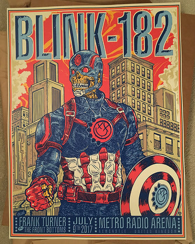 Blink 182 - Newcastle