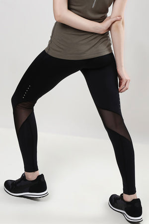 Mesh Panel DRY FIT Leggings
