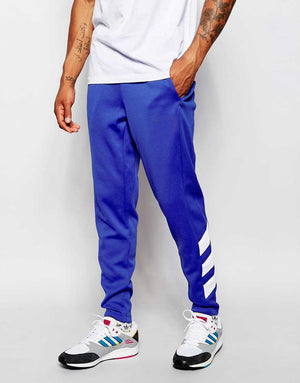 Slim Retro Track Pants - Blue