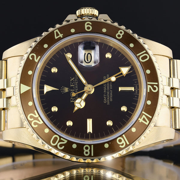 Rolex Root Beer Nipple Dial - GMT Master - 16758 - 1984 - Box only