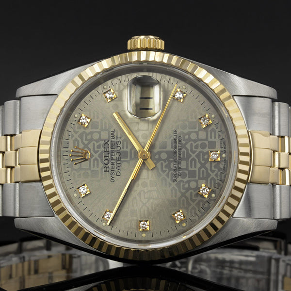 Rolex Datejust 16013 - Anniversary Diamond Dot Dial - 1987