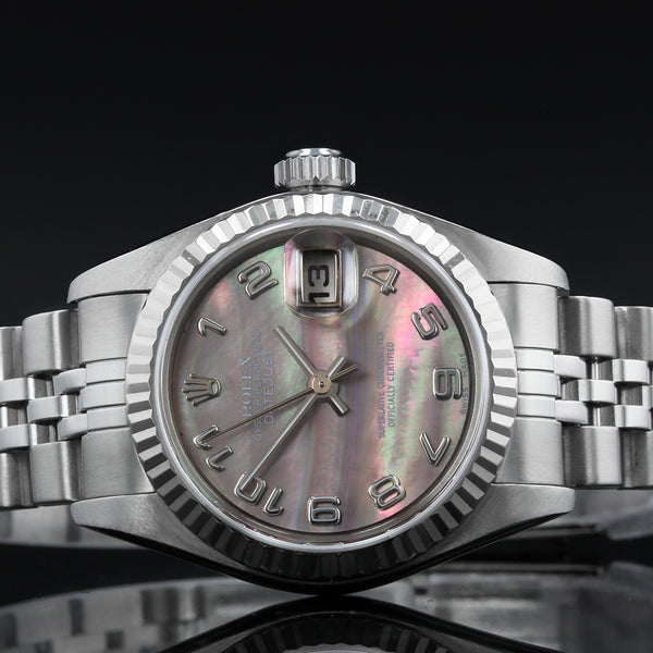 Pre-Owned Ladies Rolex Datejust -  79174 - 2000  - Mother Of Pearl Arabic Dial.