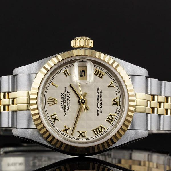 Ladies Rolex Datejust 69173 - 1994 - Quilted Dial
