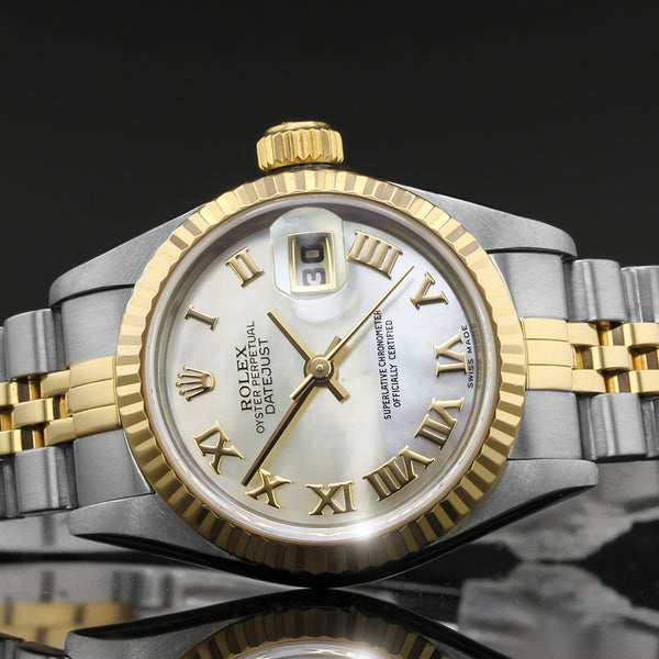 Ladies Rolex Datejust -  79173 - 2004 - Mother Of Pearl Dial - Box And Papers