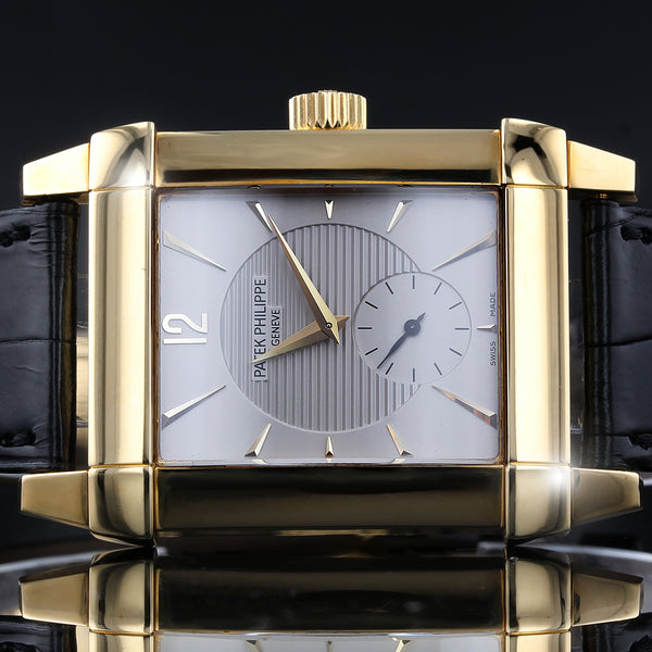 Patek Philippe Gondolo Mens Watch 5111J-001 - 18C Gold - Box And Papers - 2005