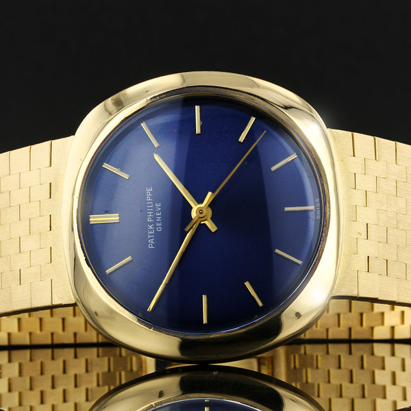 RARE Patek Philippe - Ref 3573/1 - 36MM - 18K Gold Vintage Gents Watch