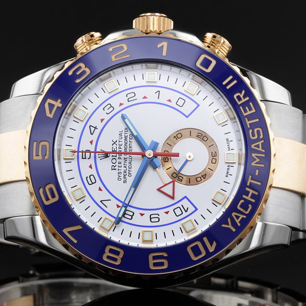 Rolex Yacht-Master II - 116681 - 2016 - Stainless Steel And Rose gold FINANCE AVAILABLE UPON REQUEST