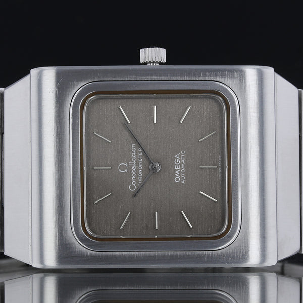 RARE! Omega - constellation automatic - Aged Grey Dial -  Circa 1970s