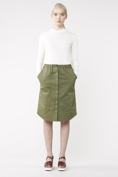 SCOPE SKIRT KHAKI