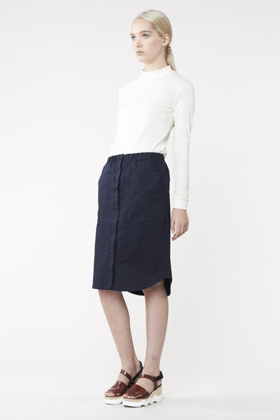 SCOPE SKIRT INDIGO