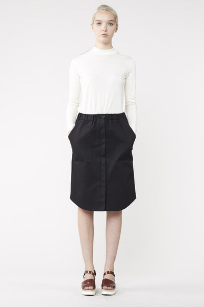 SCOPE SKIRT BLACK