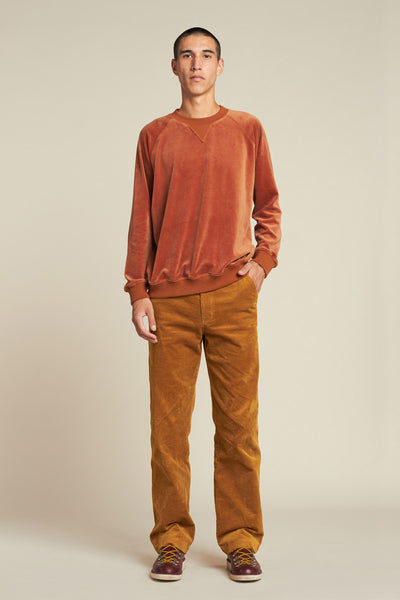 Command Velour Sweater Rust