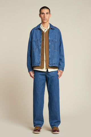 Orbit Denim Jacket Mid Wash Denim