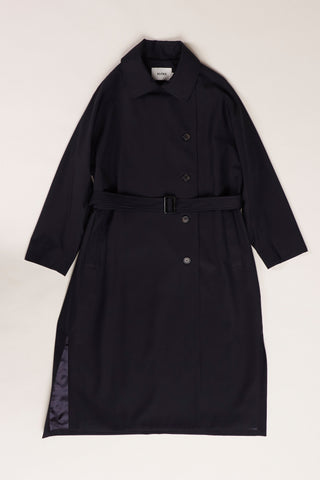Boundaries Coat Ink Navy