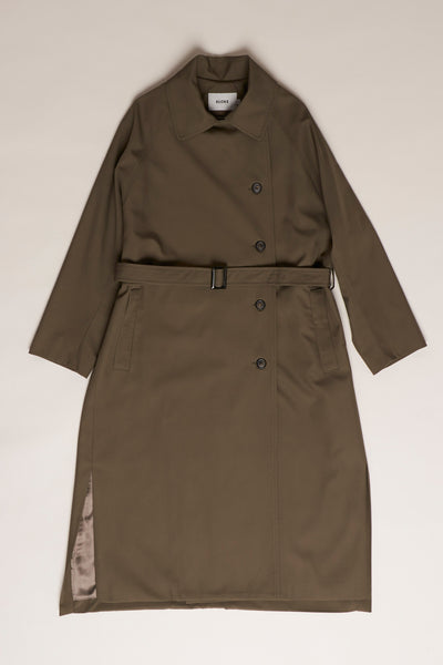 Boundaries Coat Olive