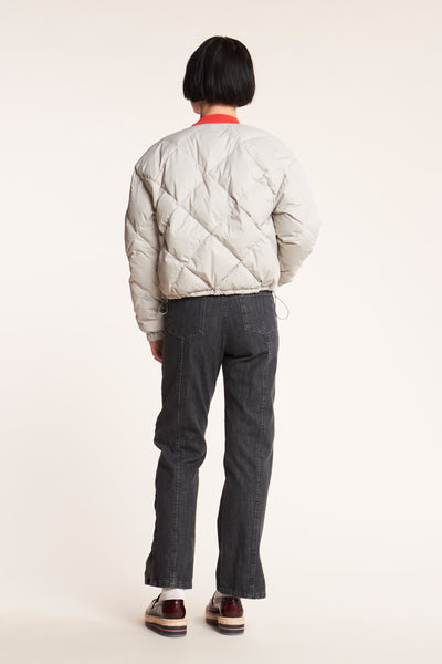 League Down Jacket Fog