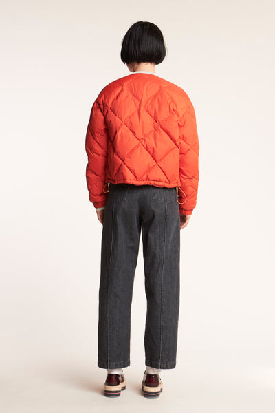 League Down Jacket Grenadine