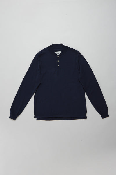 Shield Knit Ink Navy