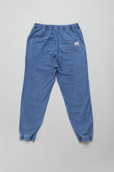 Discovery Track Pant Washed Denim
