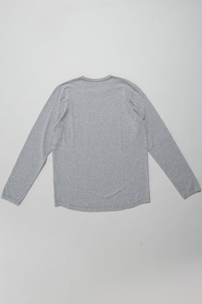 Lihu'e L/S Men's T Grey Marle