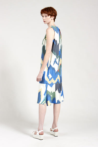 Unlimit Dress Frequency Print