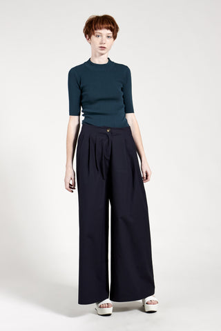 Mai Wide Pant Navy