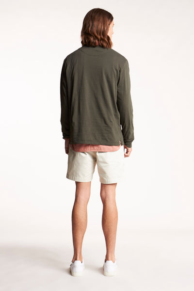 Possibilities L/S tee Dark Olive