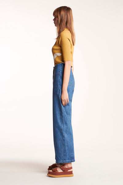 Interval Pant Bleached Denim