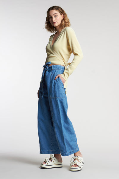 Allure Pant Mid-Wash Indigo Denim