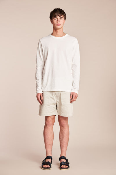 Lure LS Tee Off White
