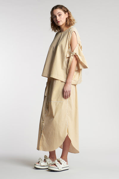 Jacques Tie Top Ochre