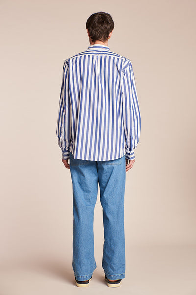 Remain Shirt Marine Stripe