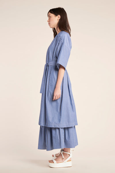 Deviate Dress Marine Stripe