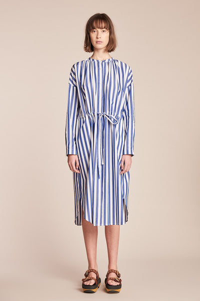 Attune Shirt Dress Marine Stripe
