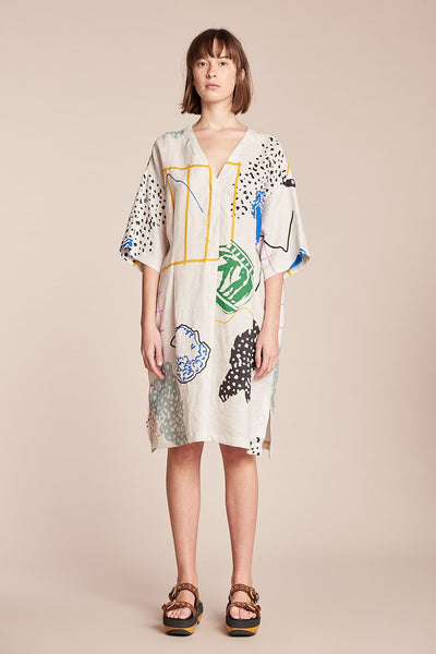 Astral Dress Astral Print