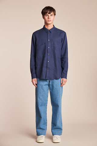 Sworn Denim Pant Mid-Wash Indigo Denim