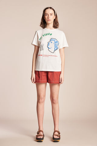 Women's Hi Vista Tee White