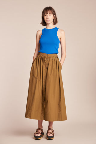 Hiatus Skirt Tobacco