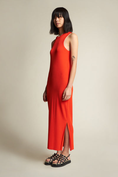 Adept Racer Back Dress Grenadine
