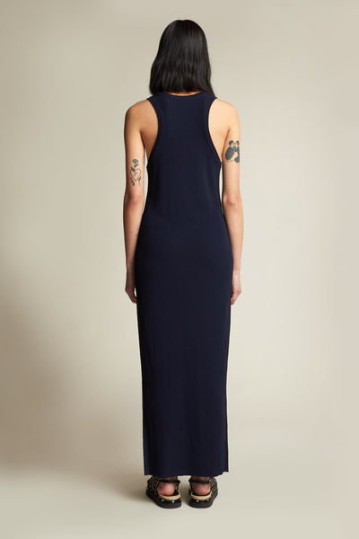 Adept Racer Back Dress Ink