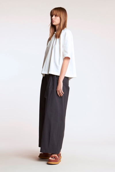 Phase Tie Neck Top White