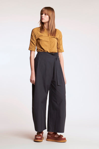 Kinetic Ruched Top Desert