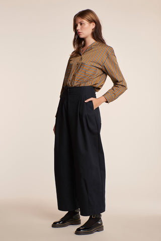 Eidolon Pleat Pant Ink