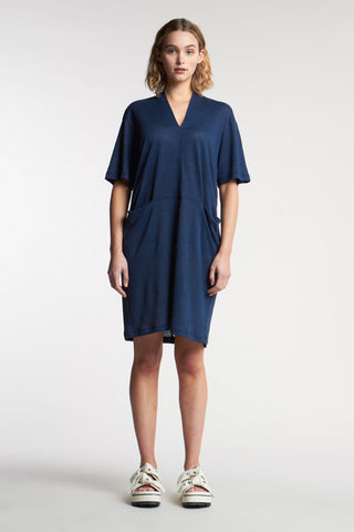 Sight Linen Dress Ink